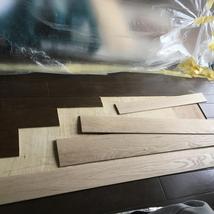 フローリングめくれ単板張替え調色塗装で元どおり